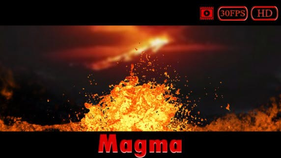 Thumbnail for Magma/Lava Splash HD