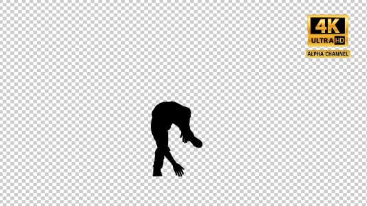 Thumbnail for Young Boy Doing Breakdance With Transparency-5