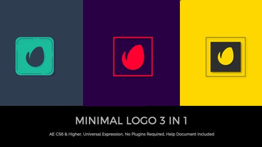 Thumbnail for Logo minimal 3 en 1