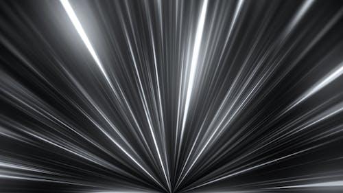 White Rays Lights Beam