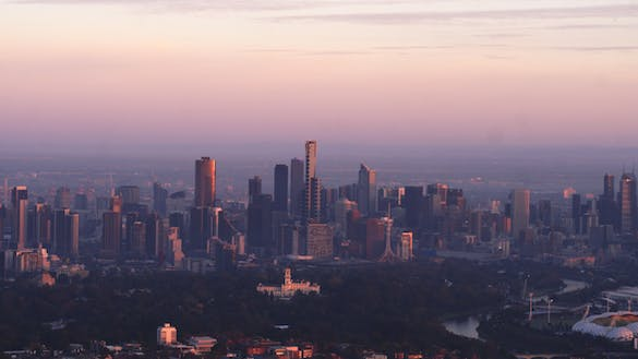 Thumbnail for Melbourne City Sunrise