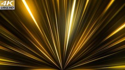 Gold Rays 4K