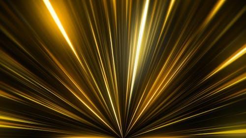 Gold Lights Rays Beam