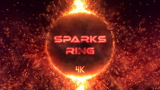 Thumbnail for Fire Sparks Ring