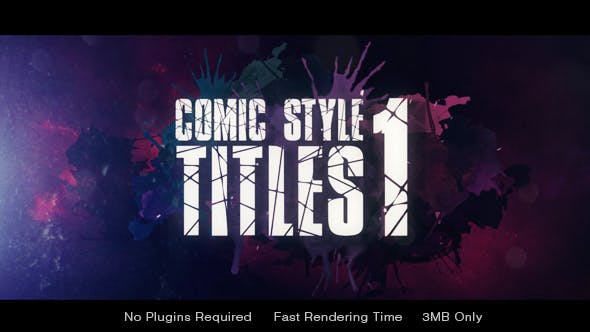 Thumbnail for Comic Style Title