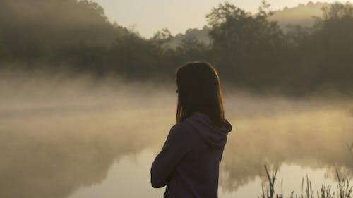 Morning Glory at the Lake