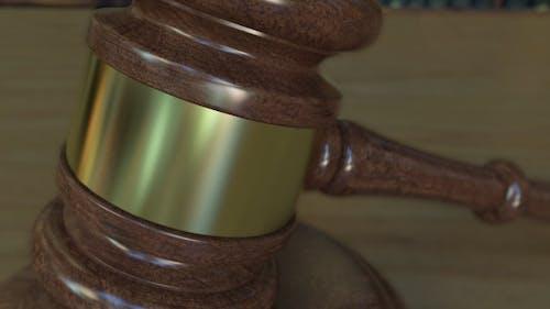 Judge's Gavel and Block with LEGISLATION  Inscription