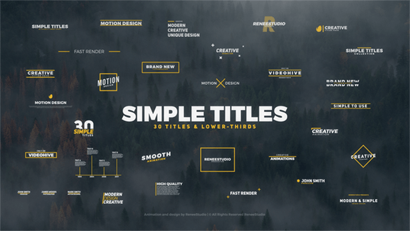 Thumbnail for 30 Simple Titles