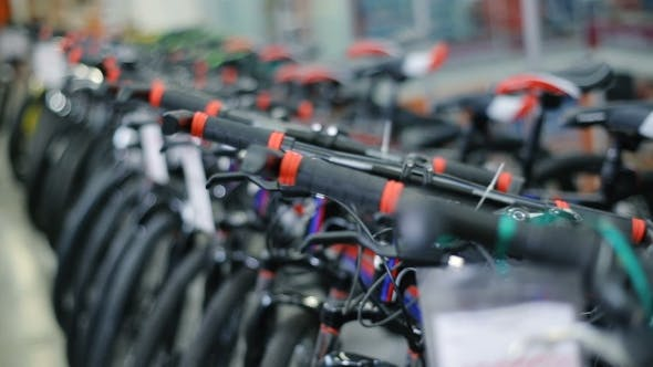 Thumbnail for Bikes in Sports Shop