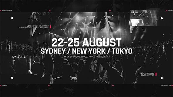 Music Event Promo / Party Invitation / EDM Festival / Night Club / DJ Performance