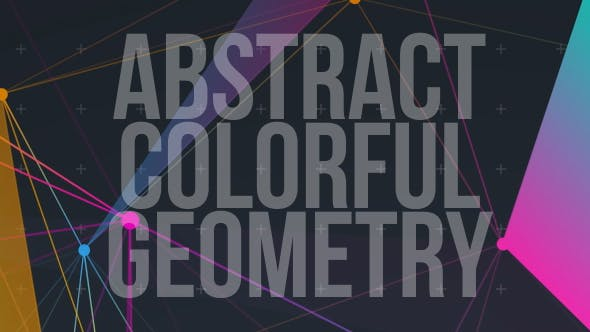Abstract Colorful Geometry V1