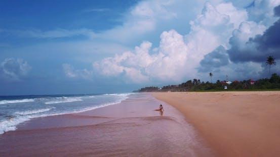 Thumbnail for Woman in a Bikini on the Beach