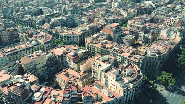 Thumbnail for Barcelona Residential Area Blocks Pattern