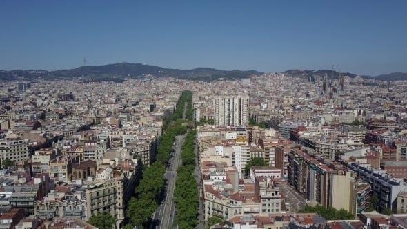 Thumbnail for Barcelona City and Famous Sagrada Familia