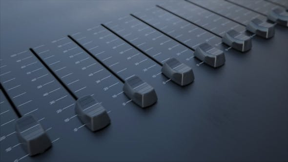 Thumbnail for Multiple Sliding Faders on a Panel with Efficiency Inscription