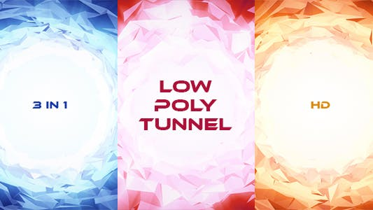 Thumbnail for Low Poly Tunnel