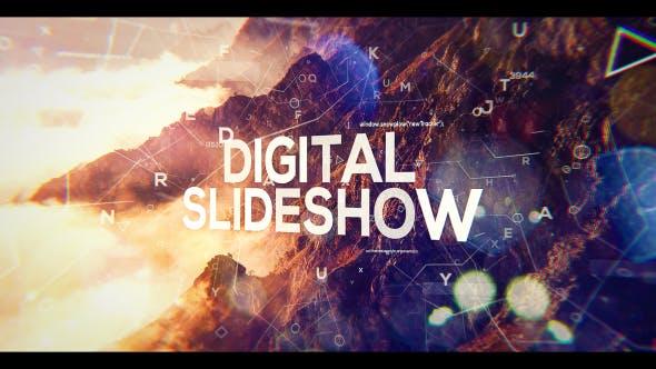 Presentación de diapositivas Web digital