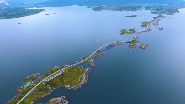 Cover Image for Atlantic Ocean Road Aerial Photography.