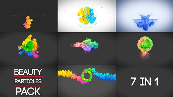 Cover Image for Beauty Particles Logo Pack
