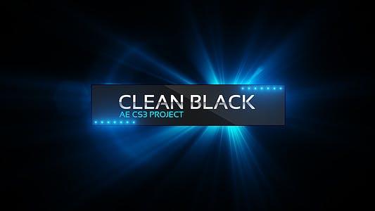 Thumbnail for Clean Black Présentation