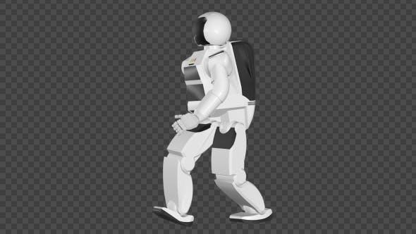 Thumbnail for Asimo, Humanoid Robot