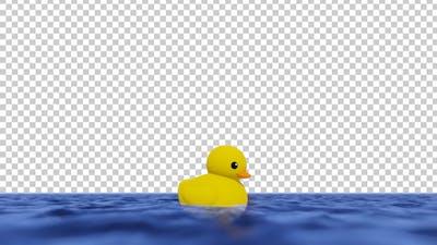 Swimming Rubber Duck