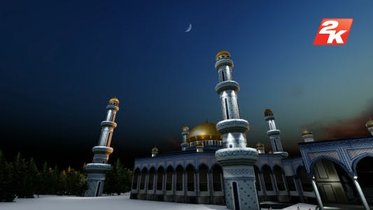 Thumbnail for Ramadan Mosque and Arabian Muslim People