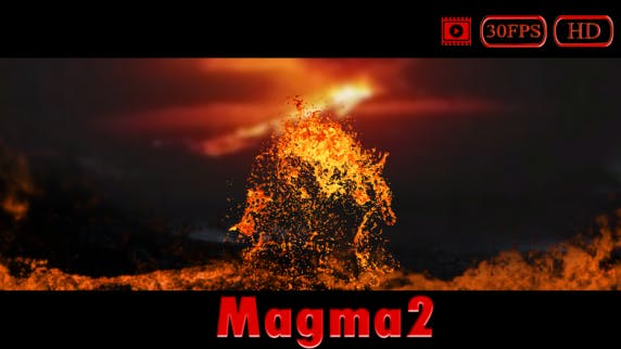Thumbnail for Magma/Lava Splash HD (Small) V2