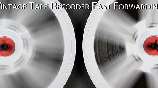 Thumbnail for Vintage Tape Recorder 4 Fast Forwarding