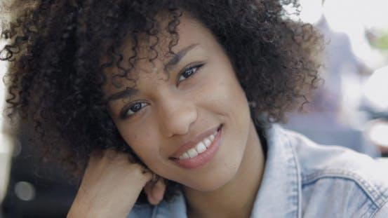Thumbnail for Beautiful Young Woman Looking at Camera