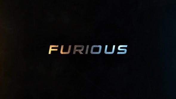 Furious | 50 Titles Presets