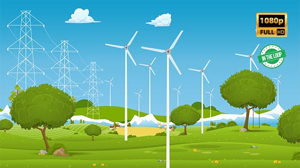 Thumbnail for Green Energy Windkraftanlage