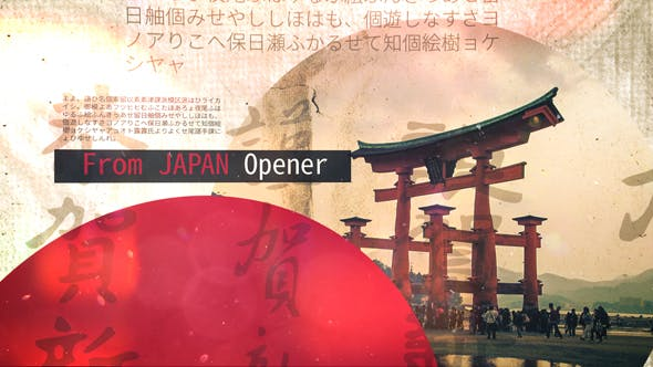 Thumbnail for From Japan Opener