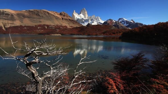 Thumbnail for Autumn in Patagonia. Fitz Roy, Argentina