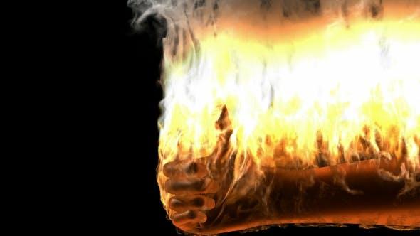 Thumbnail for Burning Skeleton Best Sign