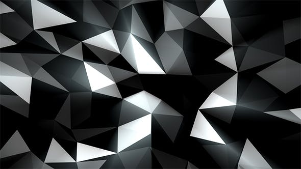 Thumbnail for Silver Abstract Low Poly