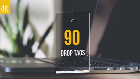Thumbnail for 90 Drop Tags