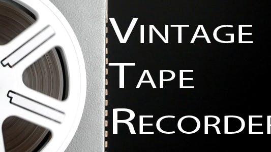 Thumbnail for Vintage Tape Recorder 6