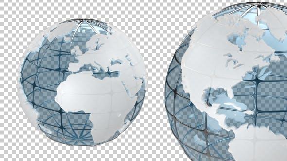 Thumbnail for Transparenter Erdkugel