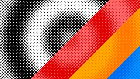 Thumbnail for Halftone Circles Backgrounds