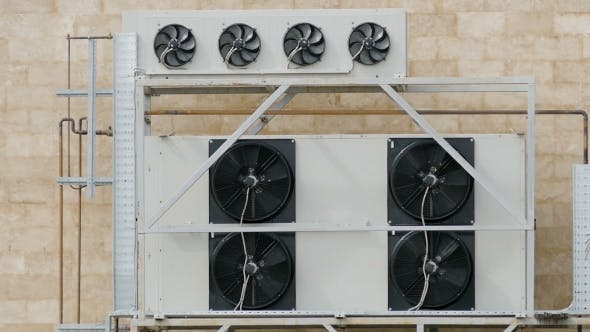 Ventilation Equipment with Multiple Rotary Coolers