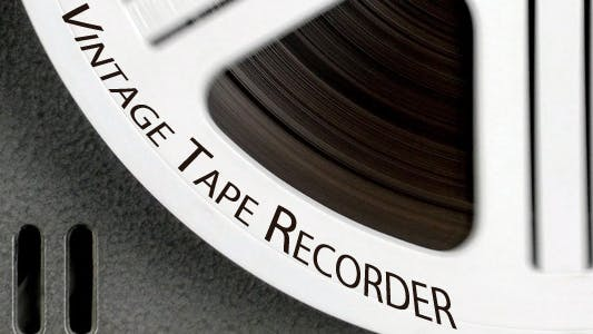 Thumbnail for Vintage Tape Recorder 7