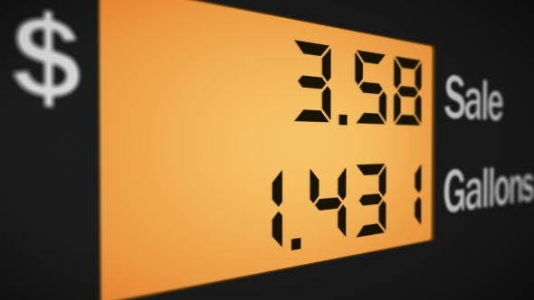 Thumbnail for Petrol Station Pump Display