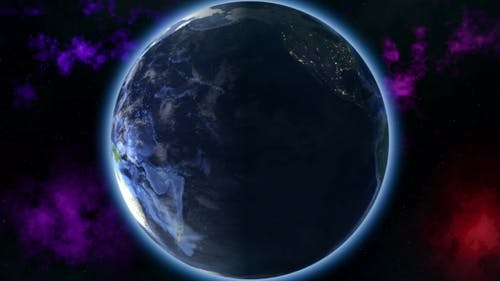 Earth Zoom Out
