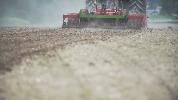 Thumbnail for Agriculture, Tractor Working