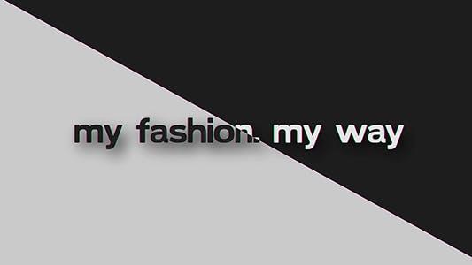 Thumbnail for My Fashion My Way