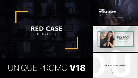 Thumbnail for Unique Promo v18 | Corporate Presentation