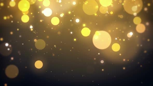 Thumbnail for Gold Bokeh Background