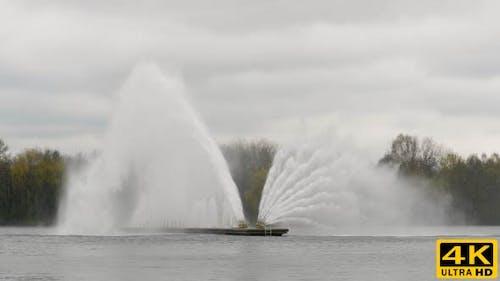 Big Fountain in Minsk