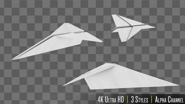 Thumbnail for Papierflugzeug fliegen
